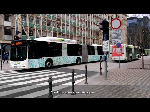 Buses in Ljubljana,Slovenia