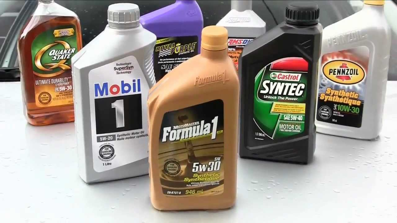 Best Synthetic Motor Oil >> Synthetic Oil Basics 🛢️ - YouTube