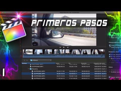 PRIMEROS PASOS | Cap: 1 | Curso Final Cut Pro X 🎬