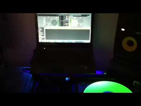Serato Glow in Dark Serato Performance Series 2XLP Control