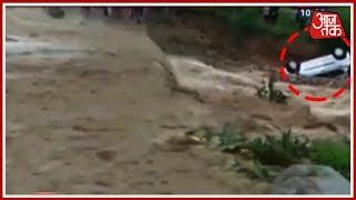 शिमला में 100 सालों में ऐसी बारिश नहीं देखी! बाढ़ से हाईवे ट्रैफिक ठप, 8 जिलों में अलर्ट