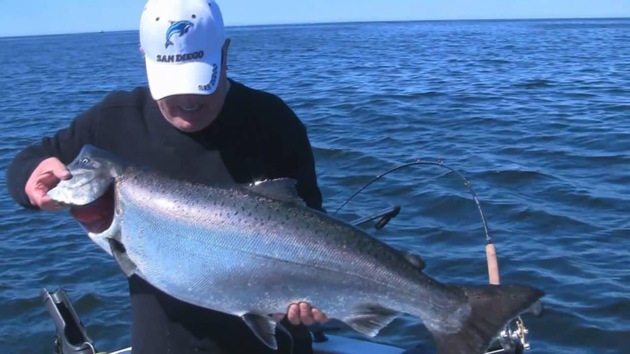 Salmon fishing trip vancouver island bc youtube for Salmon fishing vancouver