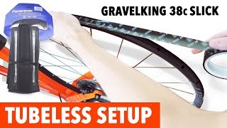 tubeless setup tutorial with the new Gravel King 38c Tires