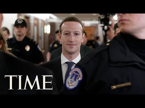 Facebook CEO Mark Zuckerberg Senate Testimony On Company's Data-Privacy Policies | TIME