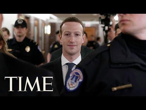 Facebook CEO Mark Zuckerberg Senate Testimony On Company's Data-Privacy Policies | TIME