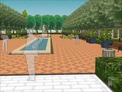 Advanced sketchup landscape residential modelling for Advanced landscape design