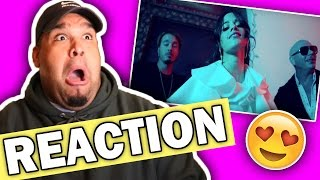 "Pitbull & J Balvin ft. Camila Cabello - Hey Ma ""Spanish Version"" (Music Video) REACTION"
