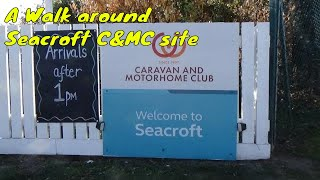 Autumn trip to Norfolk - A walk around Seacroft Caravan & Motohome club site