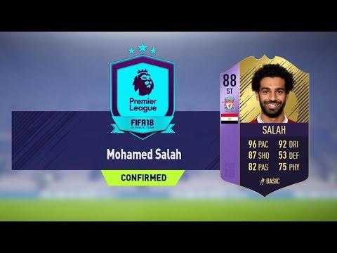 POTM SALAH SBC (FIFA 18 MOHAMED SALAH POTM *LEAKED*)