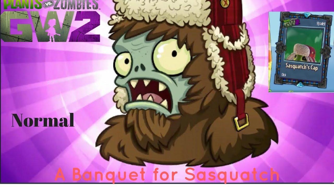 Plants vs Zombies Garden Warfare 2- A Banquet for Sasquatch Boss ...