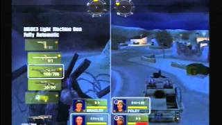 Conflict: Desert Storm 2 - Mission 1 Walkthrough - Part 1 (PS2)
