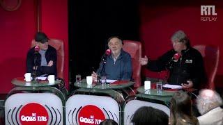 Olivier de Kersauson complimente Gérard Jugnot sur ses films