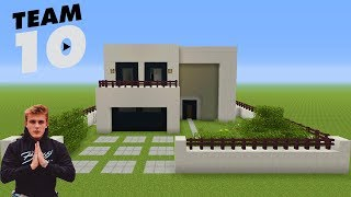 "Minecraft Tutorial: How To Make Jake Pauls House ""Team 10 House"""