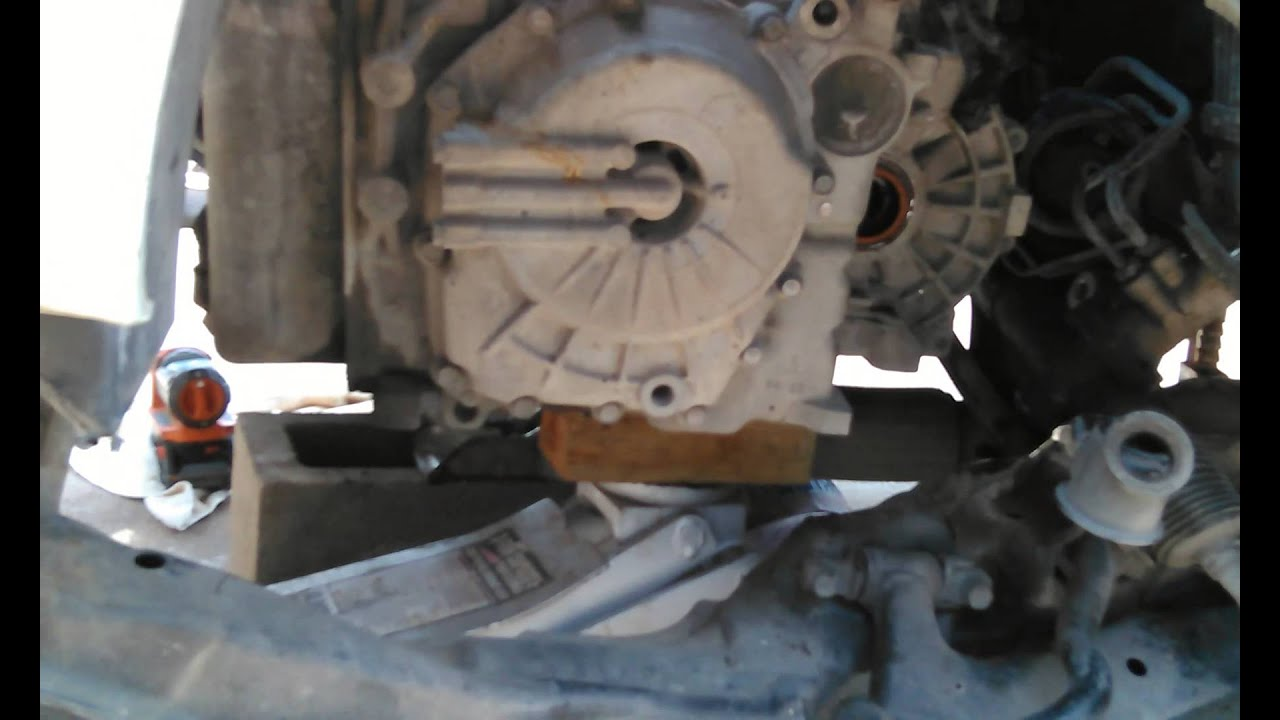 2002 Kia Optima Transmission Removal Youtube