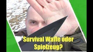 Survival Waffe oder Spielzeug? Gladius Schwert!