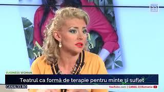 """Alexandra Velniciuc: """"Teatru ca terapie pentru suflet si minte"""" - la Canal 33"""