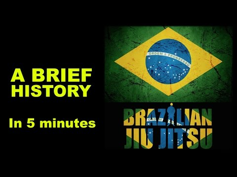 [Brief History] History of Brazilian Jiu-Jitsu in 5 Minutes