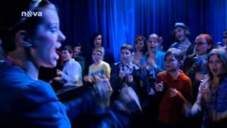 Marta Jandová a Ondřej Brzobohatý nacvičují Bye Bye Love