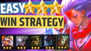 EASY ⭐⭐⭐ WIN STRATEGY TFT Teamfight Tactics Beginners Roll Strategy Set 2 9.22 Build Best Comp Guide