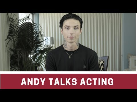 Andy Biersack On NEW MOVIE American Satan + Why He Loves Acting