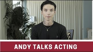 Andy Biersack On NEW MOVIE