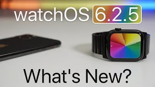 watchOS 6.2.5 is Out! - What's New?