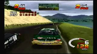 TOCA 2 Touring Car Challenge PS1: Loch Ranoch