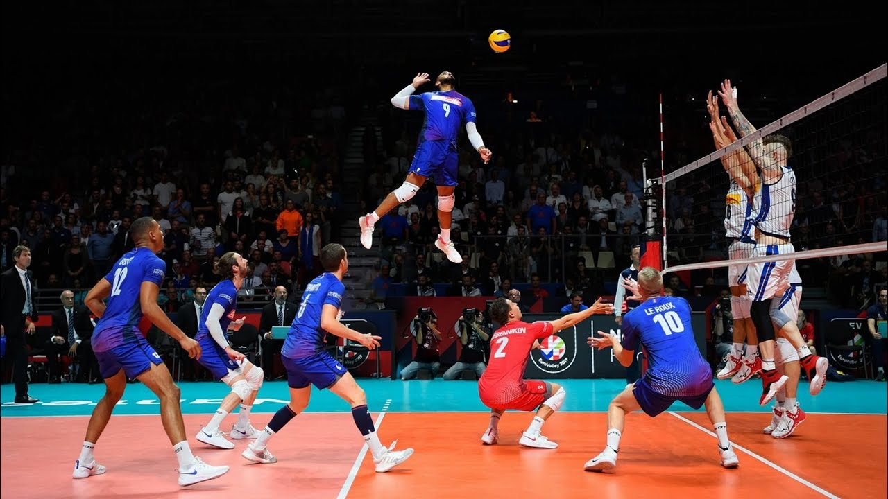 The King of Spike | Earvin N'Gapeth | Crazy Volleyball Actions (HD)