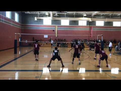Boys Volleyball: Bravo HS vs Santa Fe HS - El Rancho HS Volleyball tournament 2017
