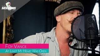 Watch Foy Vance At Least My Heart Was Open video