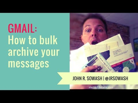 Gmail Tip: How to bulk archive old messages using Gmail
