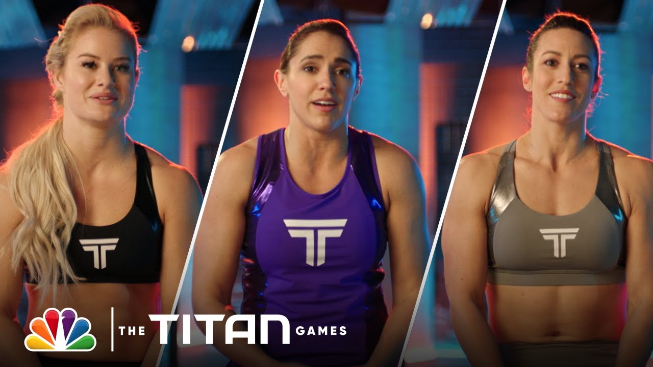 Margaux Alvarez, Courtney Roselle and Dani Speegle's Final Round of Hammer Down - The Titan Games