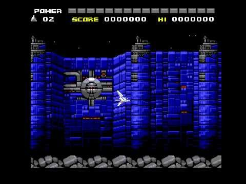 Space Manbow (MSX2+) - Stages 1 and 2