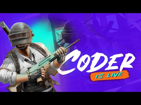 CODER IS LIVE WITH PUBG MOBILE | HIZzB CODR | Coder gaming