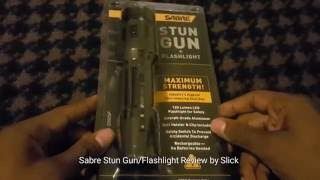 Sabre Stun Gun/Flashlight Review by Slick