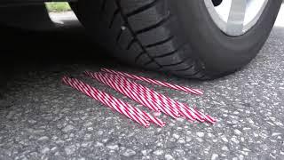 Crushing crunchy &  Soft Thinks by Car EXPERIMENT CAR vs EGGS