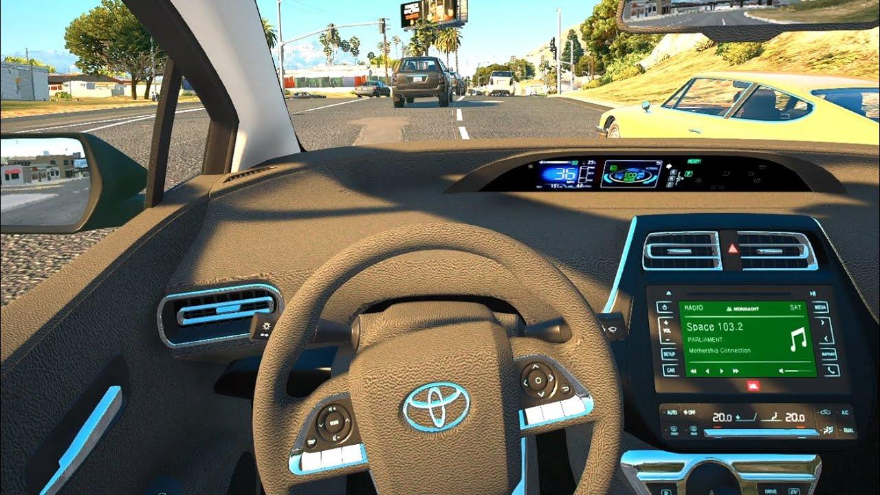 2017 Toyota Prius - GTA 5 | POV Drive [Steering wheel gameplay]