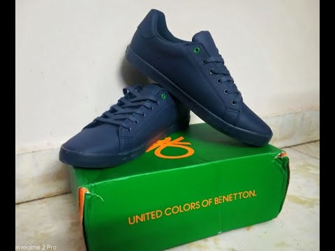 united colors of benetton green sneakers