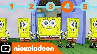 SpongeBob SquarePants | SpongeBob's Top 5 Super Powers | Nickelodeon UK