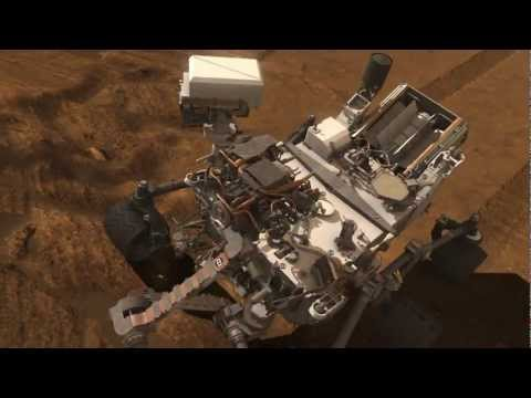 Curiosity Rover Trailer