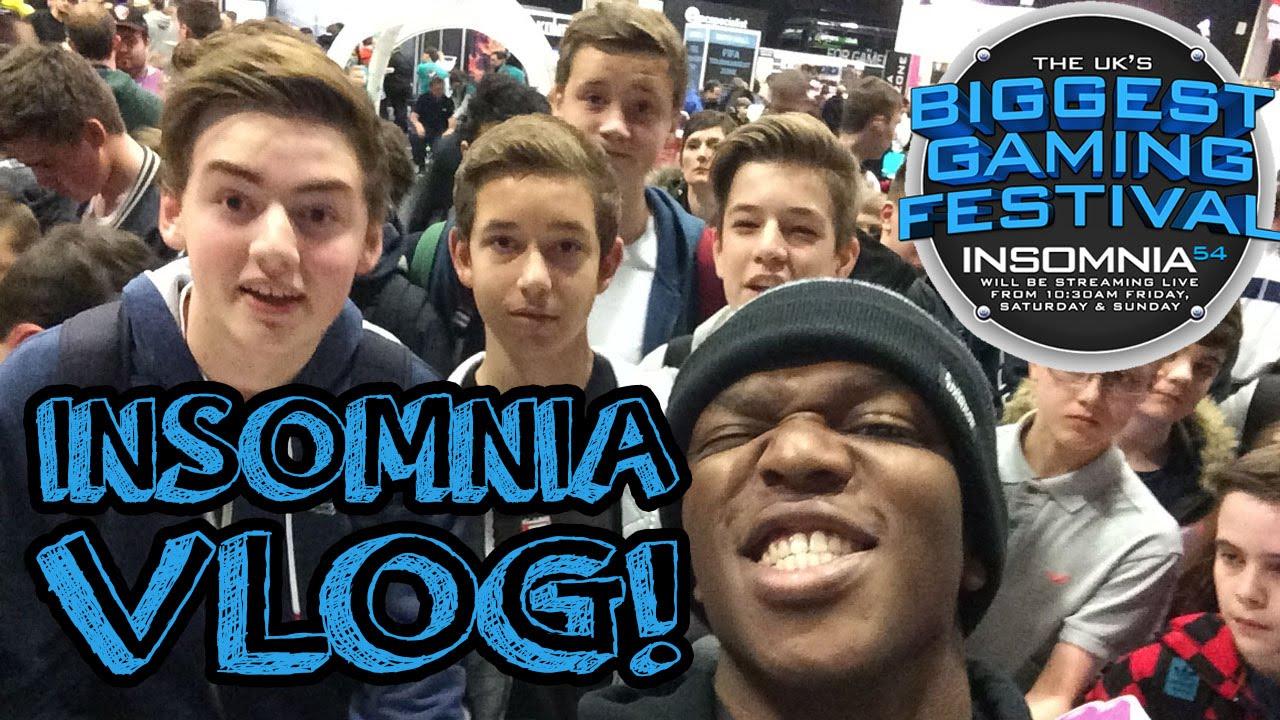 Insomnia 54 I54 Vlog Meeting Rs Youtube