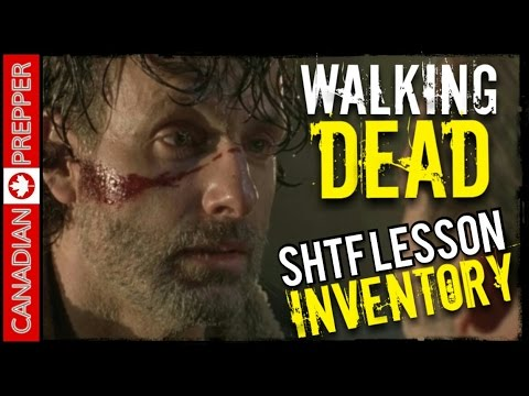 Walking Dead SHTF Lessons: Inventory