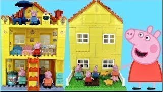 Peppa Pig's Family House Building and Construction Set