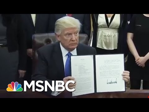 Donald Trump Words On Gun Tragedy Ring Hollow Given Past Legislation | Rachel Maddow | MSNBC