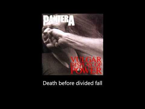 Pantera - A New Level (Lyrics)