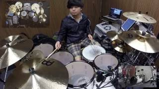 Supper moment - 沙燕之歌 (Drum cover by Chandler Chan)