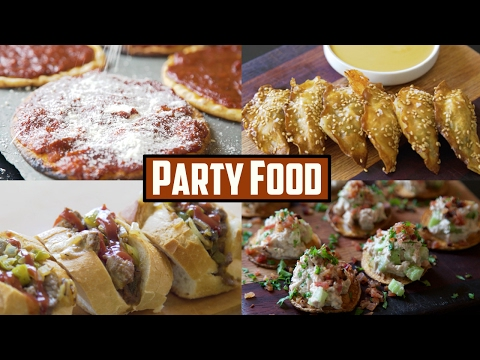 Five Ingredient Finger Foods