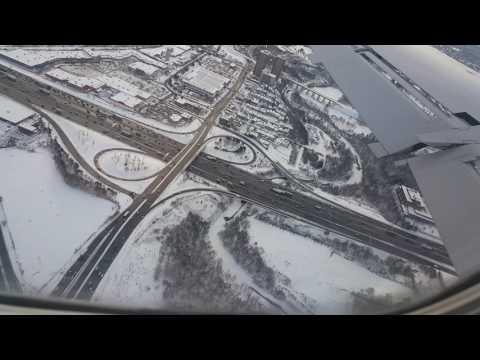 Toronto Pearson International Airport -Landing Dec 2016