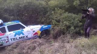 Accidente carrera panamericana 2013