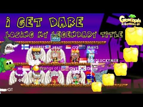 Growtopia   I Get Dare Losing My Legendary Title